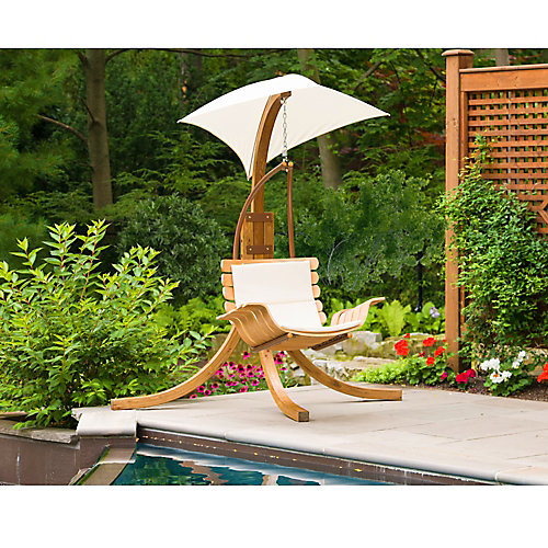 Patio Swing Chair with Umbrella