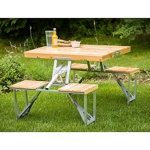 Table de pique-nique pliable et portative