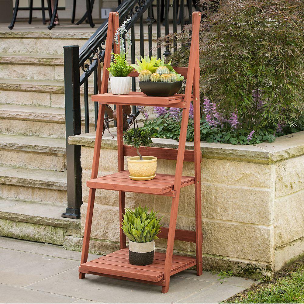 Home Depot Design Ideas: Leisure Season 3-Tier A-frame Plant Stand