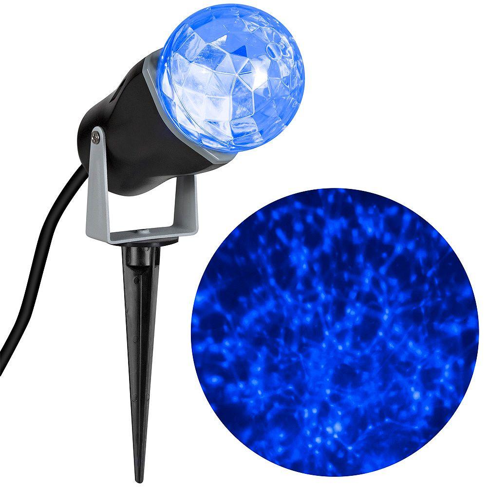LightShow Kaleidoscope Blue LED Spotlight Holiday Scene Projector