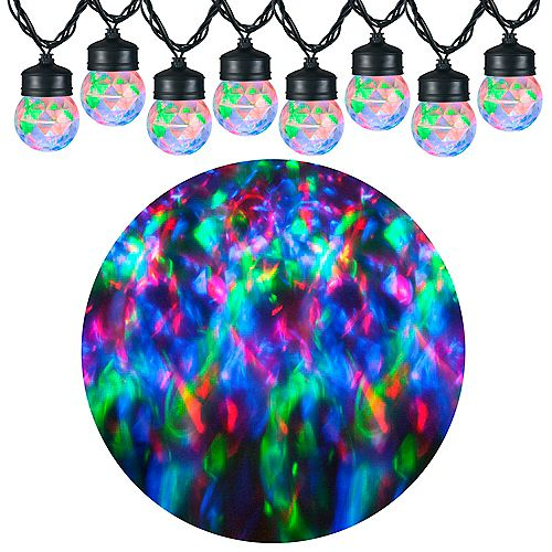 Kaleidoscope LED Projection Lights in Red/Green/Blue