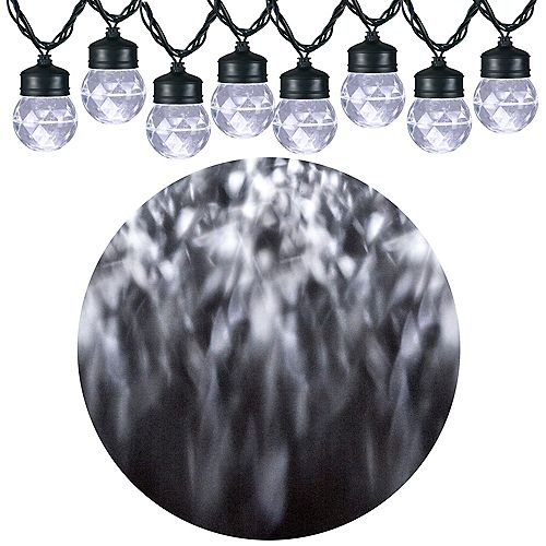 Kaleidoscope LED Projection Lights in White