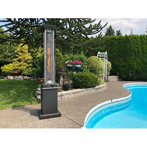 Flame Propane Patio Heater, Mocha
