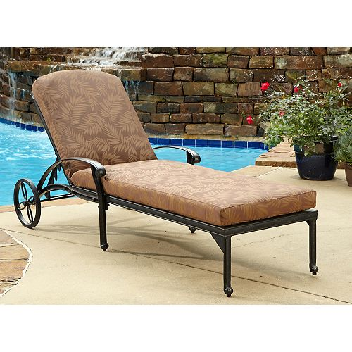 Chaise Lounge Chair with Cushion