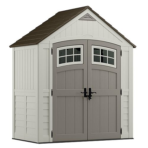 Cascade 7 ft. 4.5-inch x 3 ft. 11.75-inch Resin Storage Shed