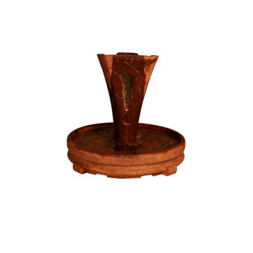 Vesuvio petite fontaine (voir-thru windows avec barboteur et lumière)