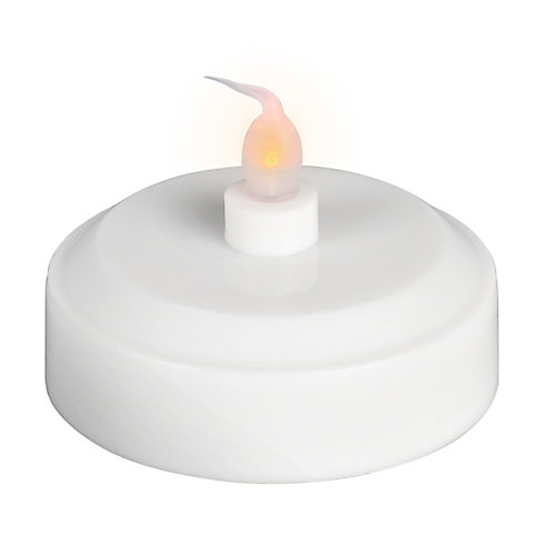2.5-inch LED Dual-Function Amber or Colour-Changing Tea Light