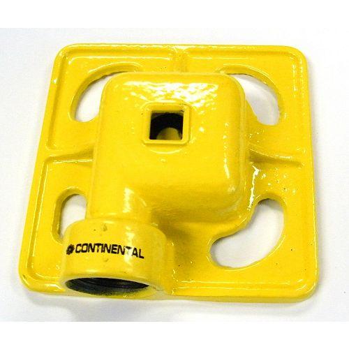 Continental Arroseur en fonte pour surfaces carrées