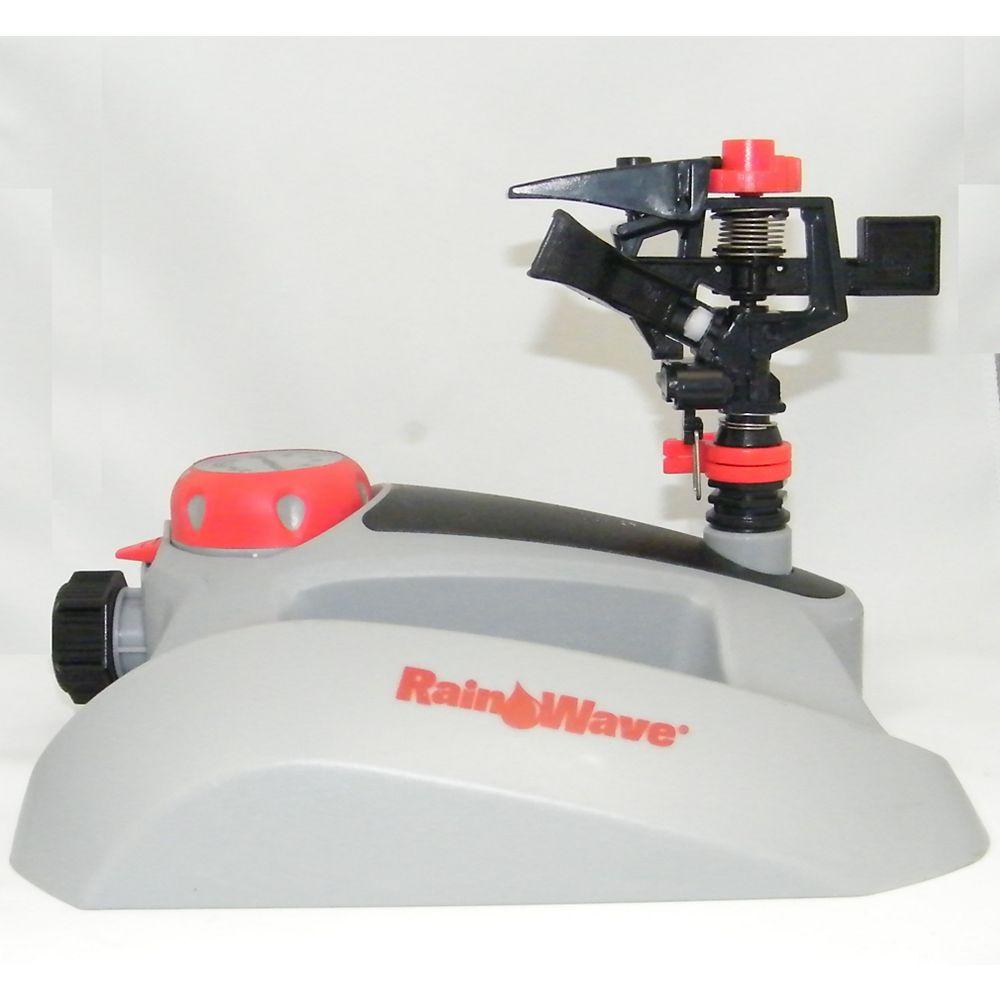 Rainwave Plastic Pulsating Sprinkler with Timer