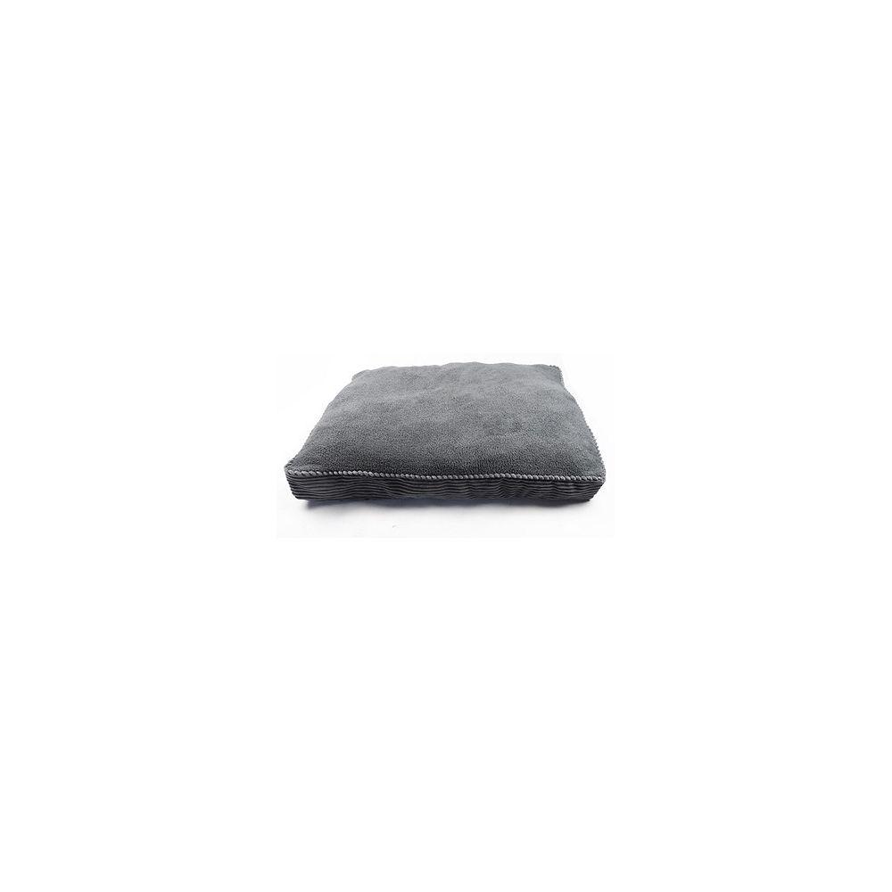 Danazoo Grey 27X36x3 Bold Corduroy Pet Bed