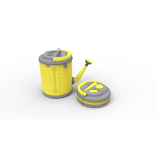 Colpaz Collapsible Watering Can in Sunshine Yellow