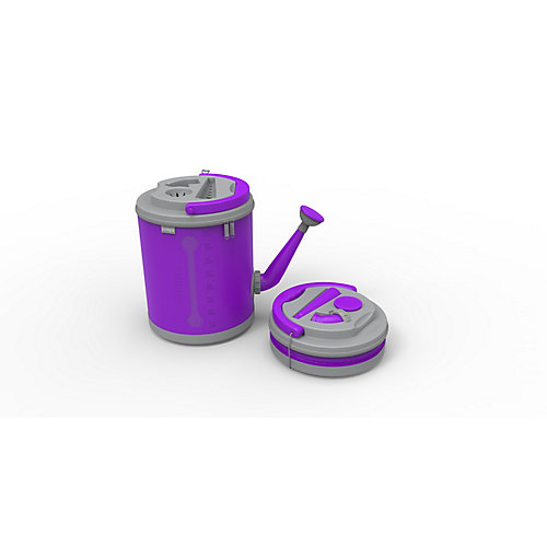 Colpaz Collapsible Watering Can in Funky Purple