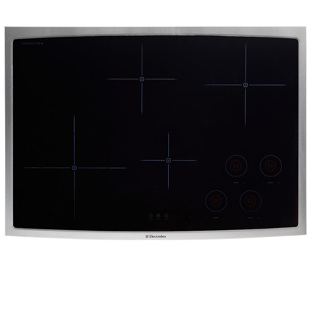 Electrolux 30-inch Smooth Surface Induction Cooktop with 4 Elements in Stainless Steel