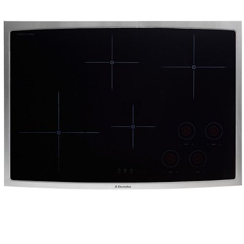 30-inch Smooth Surface Induction Cooktop with 4 Elements in Stainless Steel
