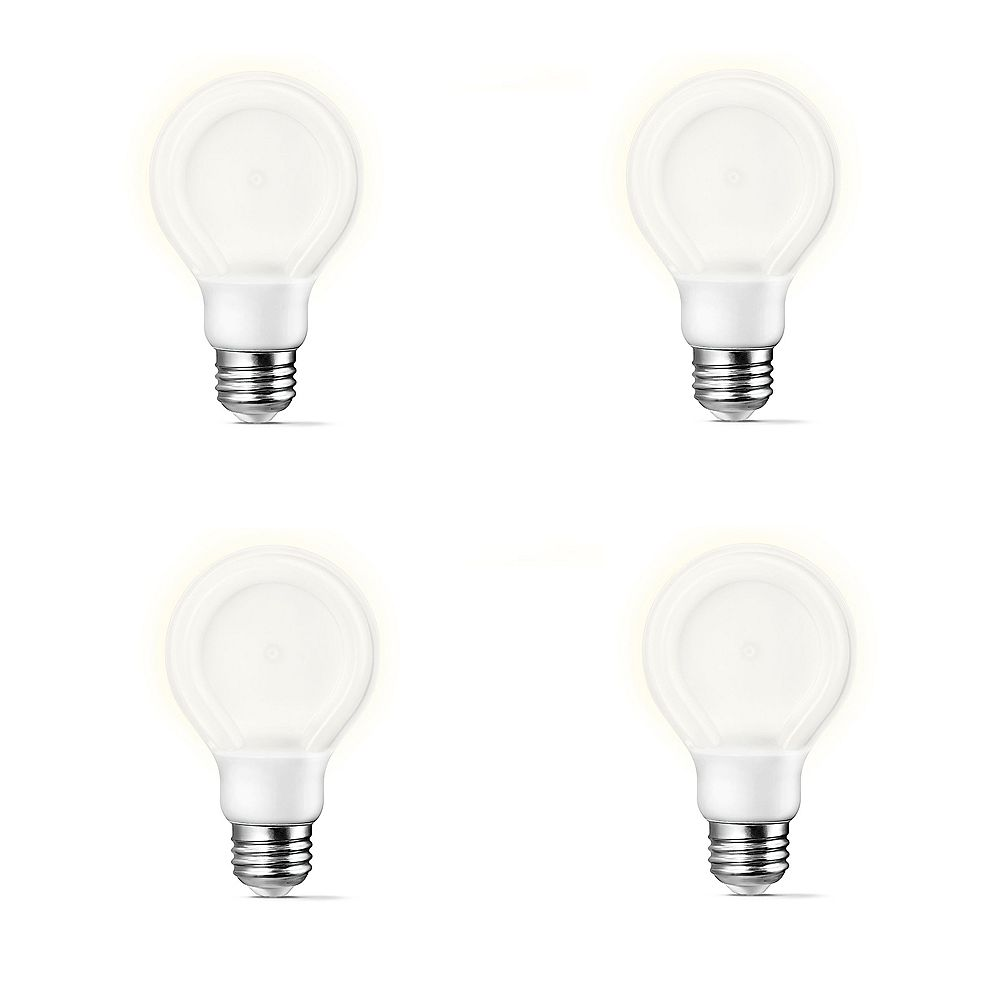 Philips LED 10.5W = 60W A-Line (A19) SlimStyle Daylight (5000K) - Case of 4 Bulbs
