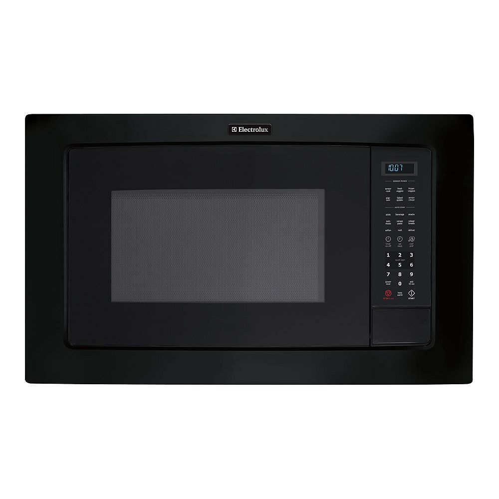 Electrolux 24-inch W 2.0 cu. ft. Built-In Microwave with Sensor Cooking in Black