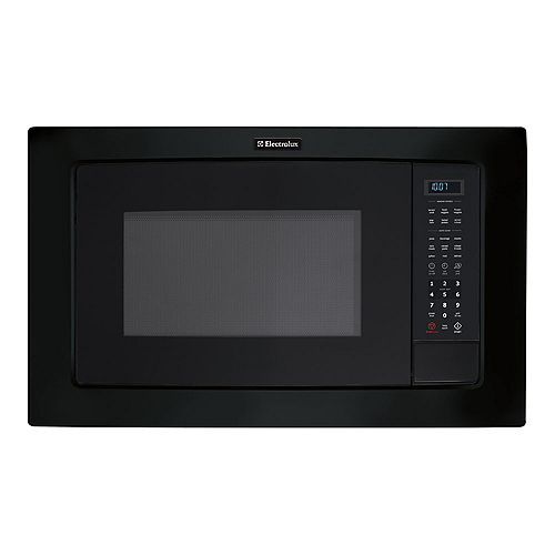 24-inch W 2.0 cu. ft. Built-In Microwave with Sensor Cooking in Black