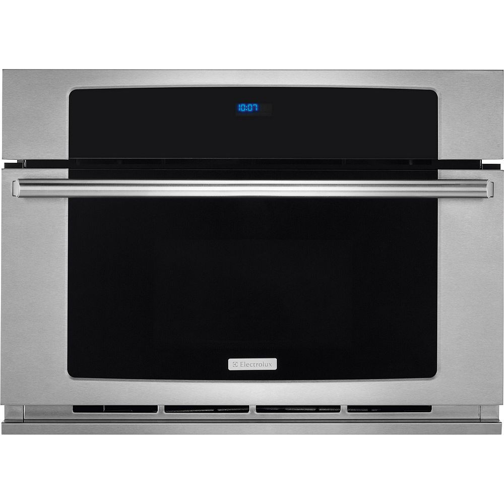 Electrolux 30-inch W 1.5 cu. ft. Built-In Microwave with Drop Down Door in Stainless Steel