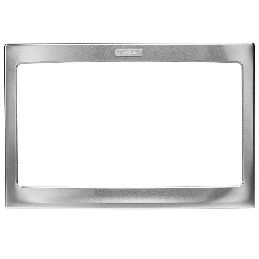 Electrolux 27-inch W Trim Kit for Built-In Microwave Oven in Stainless Steel