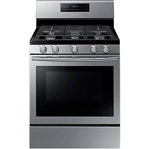 30-inch 5.8 cu.ft  Single Gas Range with Self-Cleaning Convection Oven in Stainless Steel