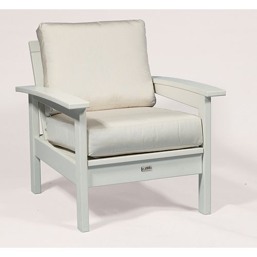 Canvas Patio Deep Seating Cushion Set in White