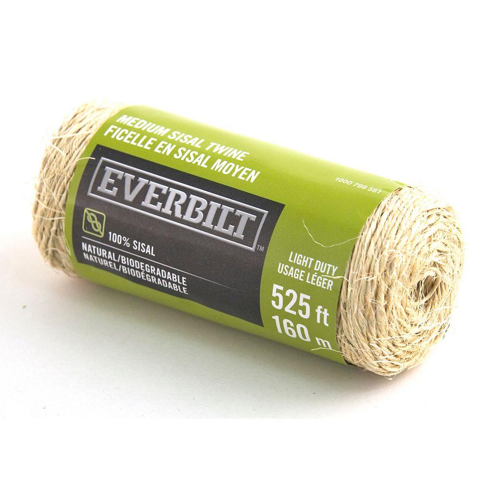 Everbilt MEDIUM x 525 Feet  SISAL TWINE