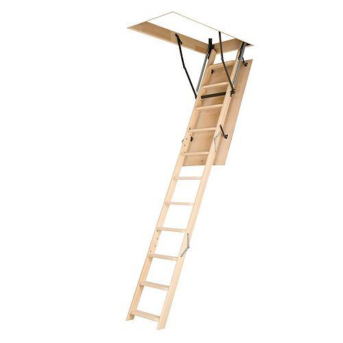 Attic Ladder (Wooden Basic) LWN 22 1/2x47 250 lbs 8 ft 11 in