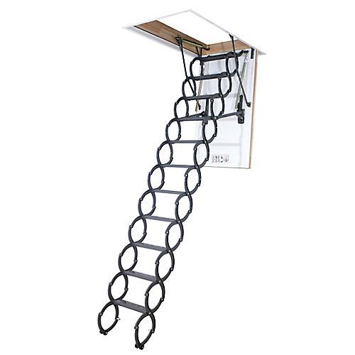Échelle de grenier (à ciseaux, isolée) LST 25 x 47 – 300 lb - 9 pi 6 po