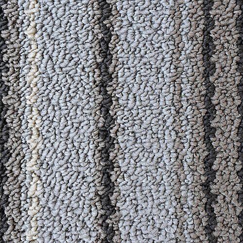 Carpette d'appoint d'intérieur, 2 pi x 4 pi, rectangulaire, gris Kelly