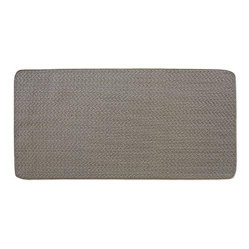Petit tapis d'appoint rectangulaire d'intérieur Concept, 2pi x 4pi, gris