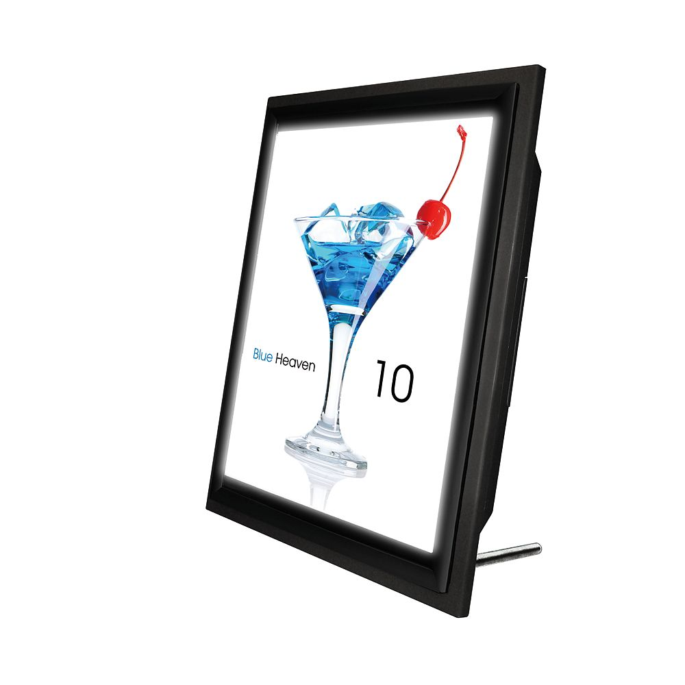 Royal Sovereign Illuma-Display LED Backlit Sign Holder, Letter Size