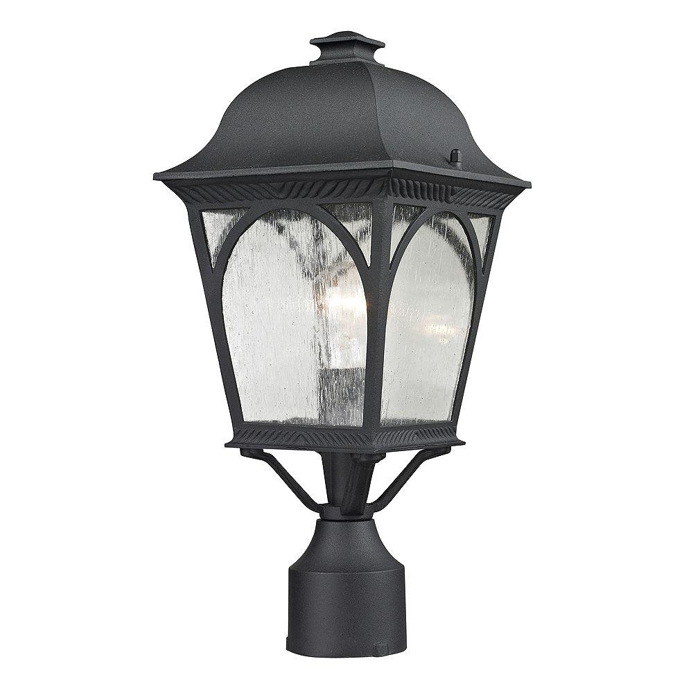 Titan Lighting Outdoor Post Lamp In Matte Textured Black
