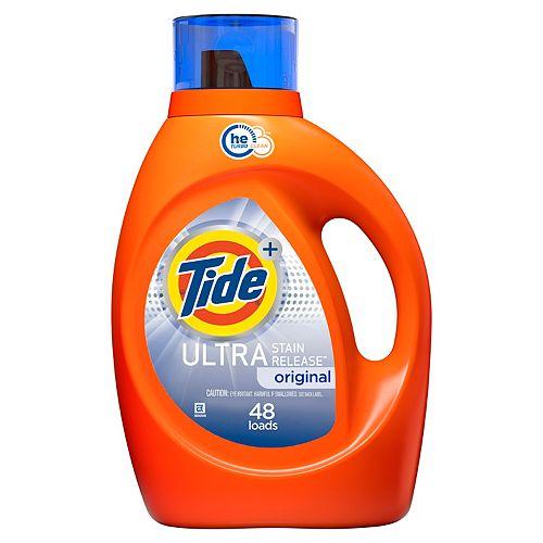 Ultra Stain Release Liquid Laundry Detergent, Original, 48 Loads 2.72 L