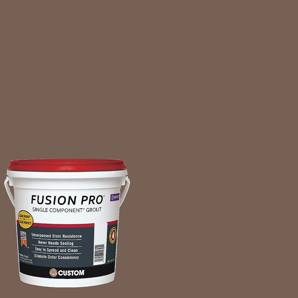 Custom Building Products #52 Tobacco Brown Fusion Pro 1gal