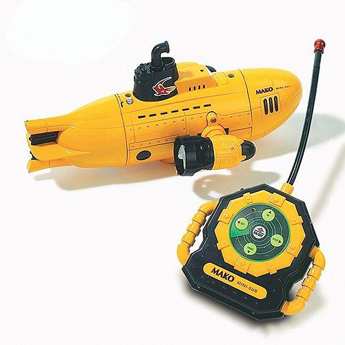 Yellow Submarine Remote Control Toy