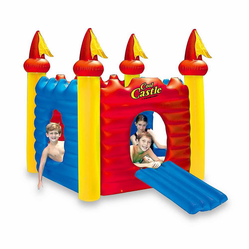 Swimline Cool Castle Inflatable Playhouse & Pool