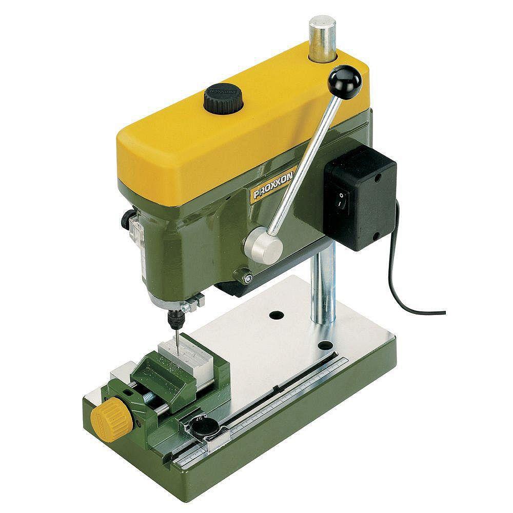 PROXXON Bench Drill Machine TBM 115 with 6 Steel Collets