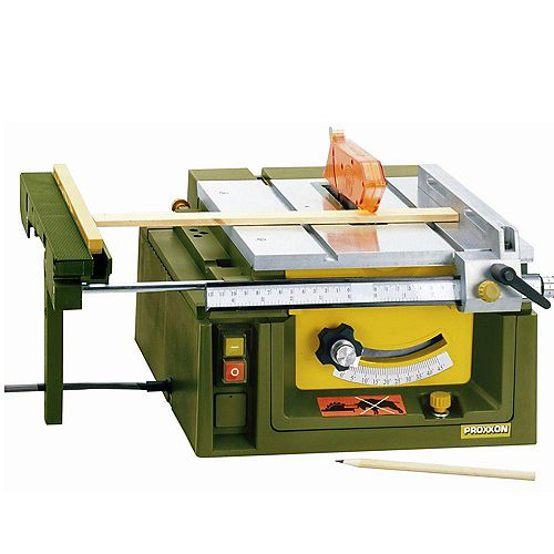 Table Saw FET with 24-Tooth Saw Blade