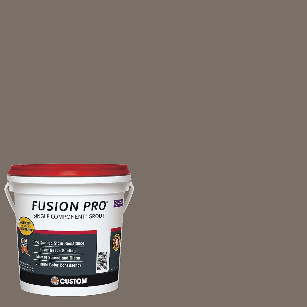 Custom Building Products #185 New Taupe Fusion Pro 1gal