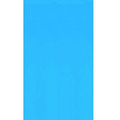 Toile à chevauchement Blue pour piscine, 5,5 m (18 pi), ronde, 122/132 cm (48/52 po) de haut