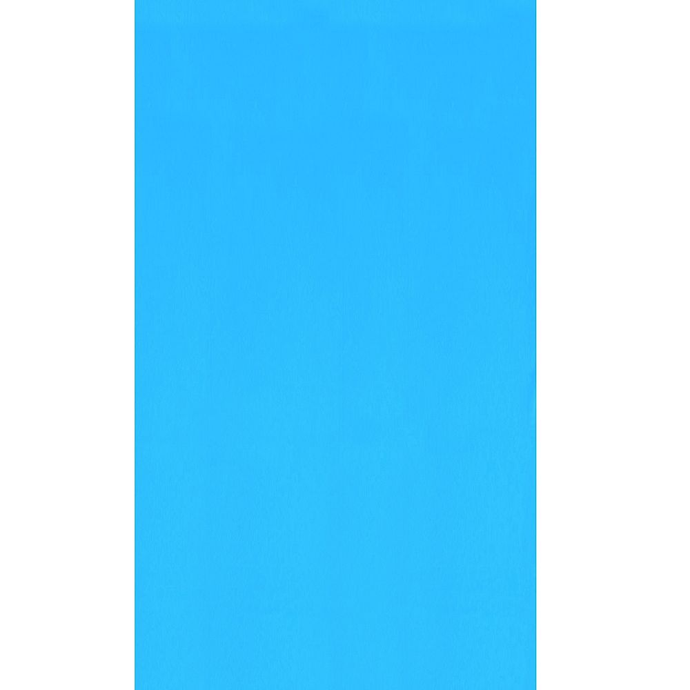 Swimline Blue 27 ft. Round Overlap Pool Liner 48/52-inch Deep