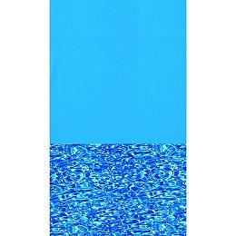 Toile à chevauchement Swirl Bottom pour piscine, 3,6 m x 5,1 m (12 pi x 17 pi), ovale, 122/132 cm (48/52 po) de haut