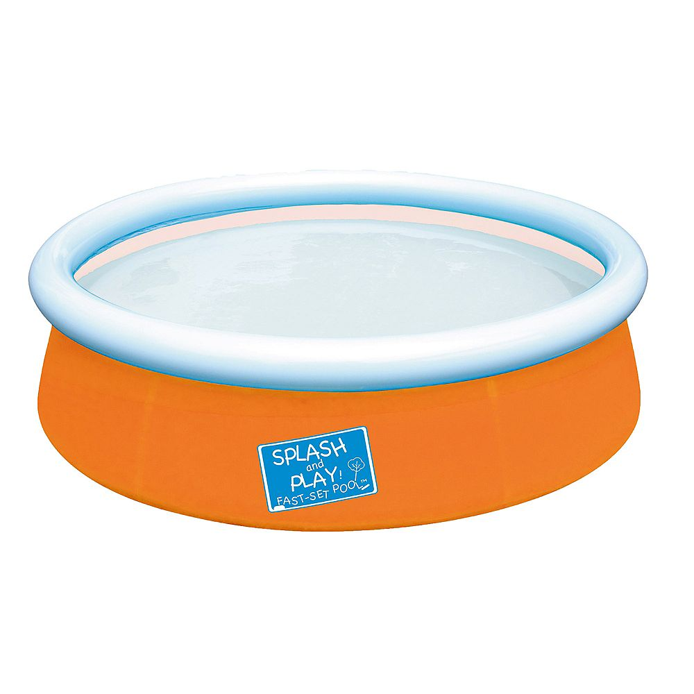 Splash & Play My First 5 ft. Fast Set Pool in Orange