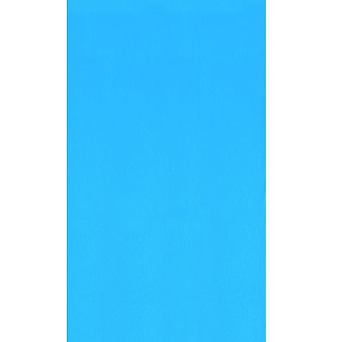 Blue 15 ft. Round Overlap Pool Liner 48/52-inch Deep