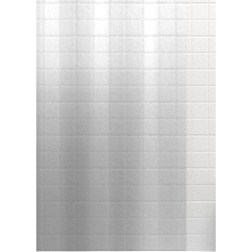 Douchette de douche Anthology en PEVA de poids moyen, transparente