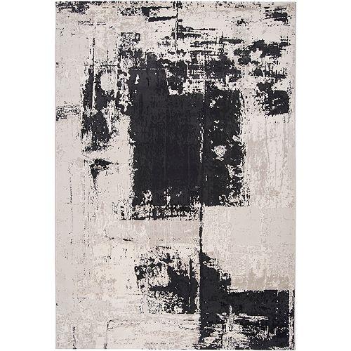 Artistic Weavers Carpette d'intérieur, 2 pi 2 po x 3 pi 3 po, style contemporain, rectangulaire, noir Calabozo