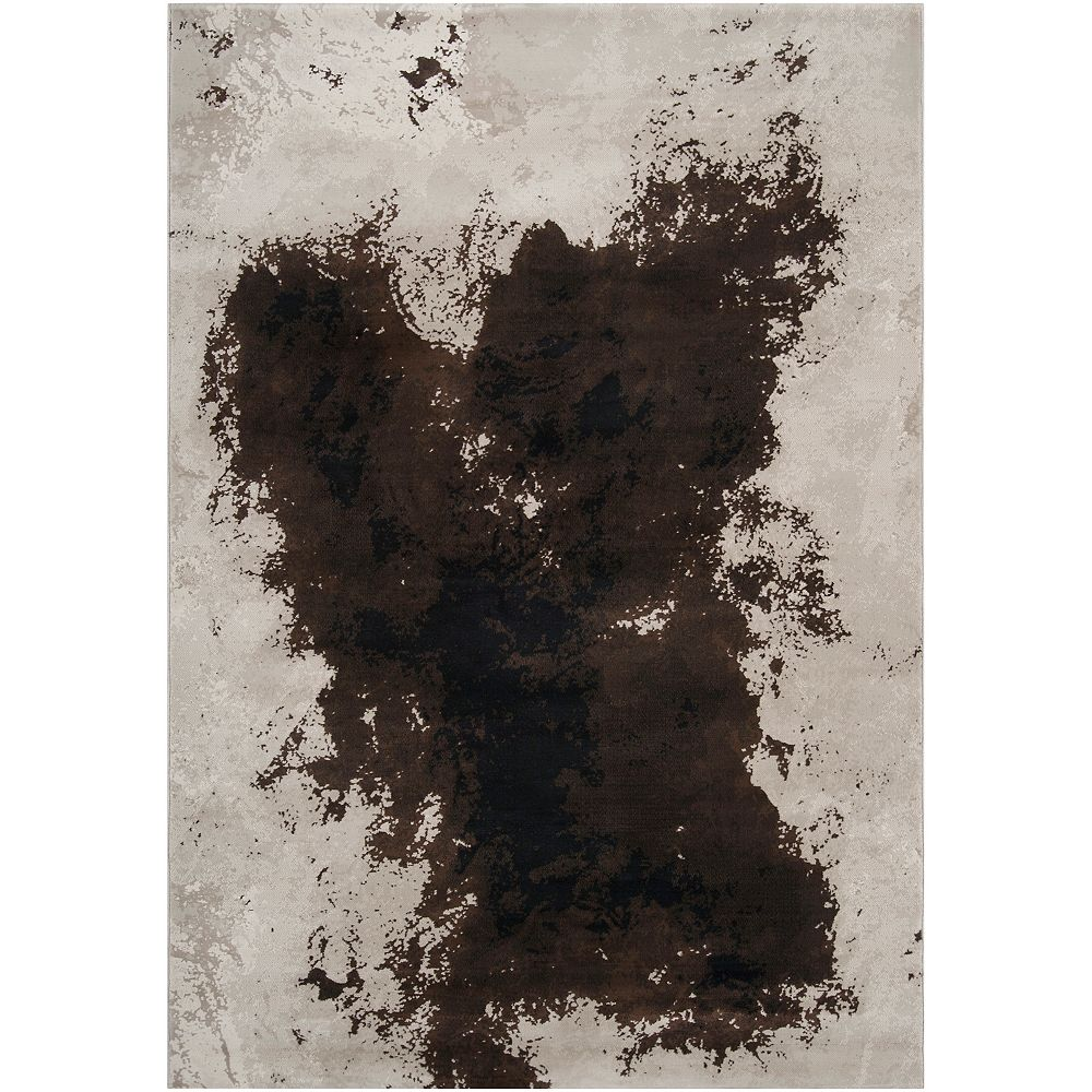 Artistic Weavers Carpette, 2 pi 2 po x 3 pi 3 po, rectangulaire, brun Socorro