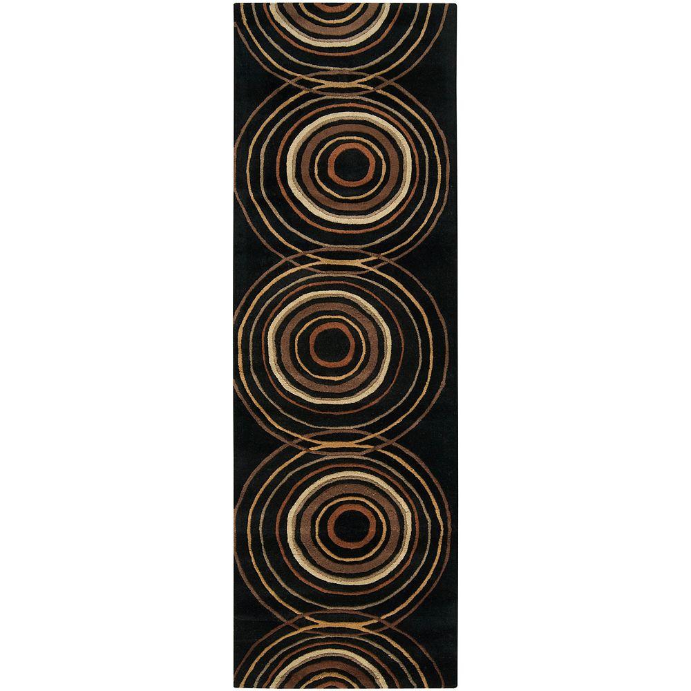 Artistic Weavers Carpette, 8 pi x 11 pi, rectangulaire, noir Teresina