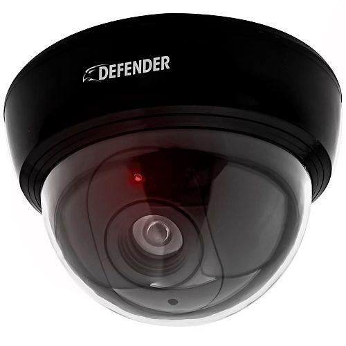 Fausse caméra de surveillance avec DEL clignotante réelle