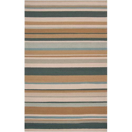 Artistic Weavers Toquia Green 2 ft. x 3 ft. Indoor/Outdoor Transitional Rectangular Accent Rug